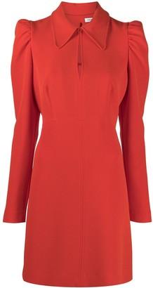 P.A.R.O.S.H. Puff-Sleeves Short Dress