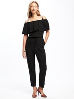 Old Navy Ruffled Off-Shoulder Jumpsuit for Women