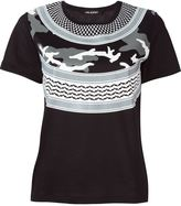 Neil Barrett patterned camouflage T-shirt