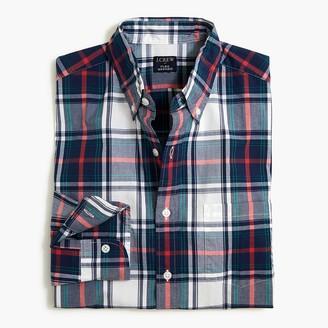 J.Crew Plaid Untucked flex casual shirt
