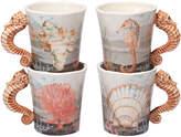 Certified International Set Of 4 Coastal View Mug