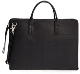 Day & Mood Vera Leather Laptop Bag - Black