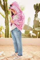 Next Girls Purple Tassel Zip Through Hoody (3mths-6yrs) - Purple