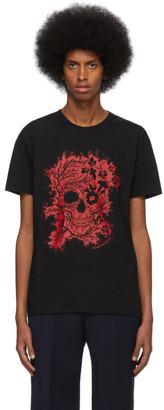 Alexander McQueen Black Ivy Skull T-Shirt