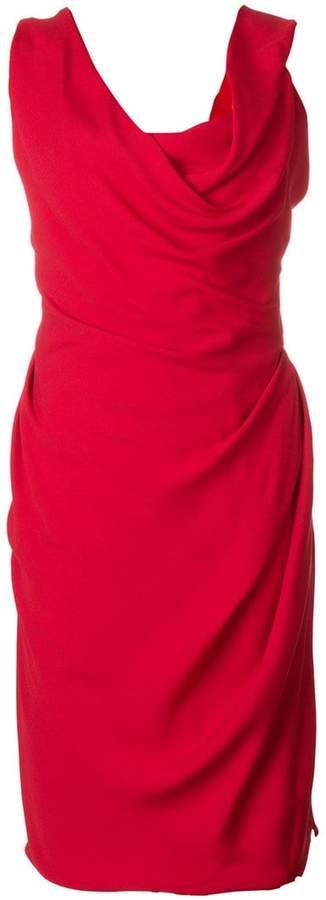 Vivienne Westwood cowl neck dress