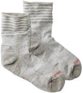 L.L. Bean L.L.Bean Women's SmartWool Herringbone Mini Boot Sock