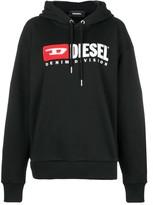 Diesel Denim Vision logo hoodie