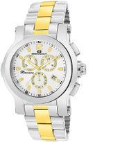 Oceanaut Mens Baccara Two-Tone & Silver Bracelet Watch