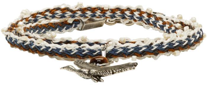 Lanvin Multicolor Bird Bracelet