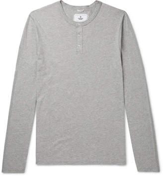 Reigning Champ Cotton-Jersey Henley T-Shirt