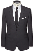 Kin By John Lewis Enno Slim Fit Stretch Plainweave Suit Jacket, Black