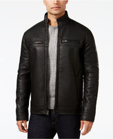 INC International Concepts Men's Lionel Faux Leather Moto Jacket, Only at Macy's