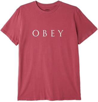 Obey Novel Graphic Cotton Tee
