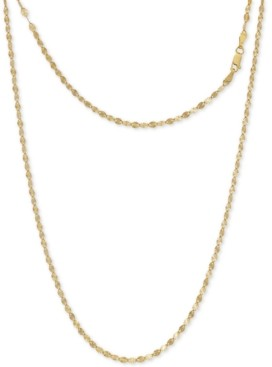 "Giani Bernini Disco Link 18"" Chain Necklace in 24k Gold-Plated Sterling Silver, Created For Macy's"