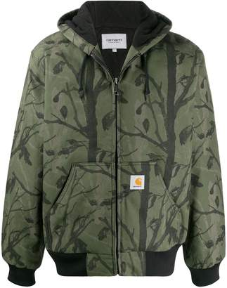 Carhartt WIP camo woodland-print jacket