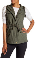 Sebby Hooded Sleeveless Anorak