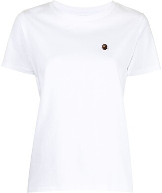 A Bathing Ape One Point patch-detail T-shirt
