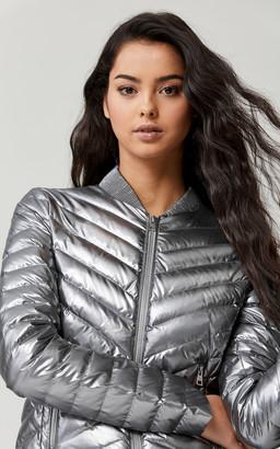 SoiakyoSoia & Kyo BRUNA metallic lightweight down jacket