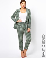 Asos Exclusive Pant In Statement Geo