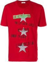 Jamie Reid Print Cotton T-shirt