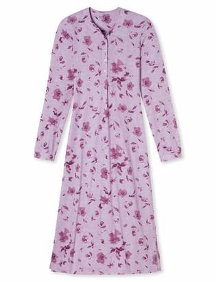 Schiesser Women's Nachthemd 1/1 Arm 120cm Nightgown