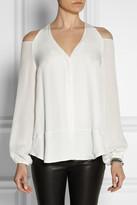 Tamara Mellon Cutout silk blouse