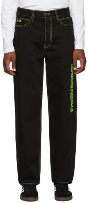 Calvin Klein Jeans Est. 1978 Black Hole Baggy Jeans