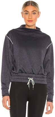 Puma Elevated Layering Mock Sweatshirt