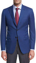 Brioni Basketweave Wool Two-Button Sport Coat
