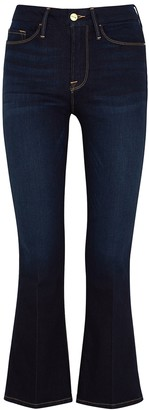 Frame Le Crop Mini Boot Indigo Jeans