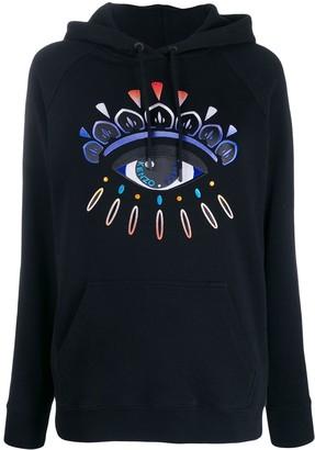 Kenzo Eye embroidered hoodie