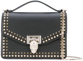 Philipp Plein medium tote with studs - women - Leather/Suede/metal - One Size