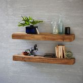 west elm Reclaimed Wood Floating Shelf