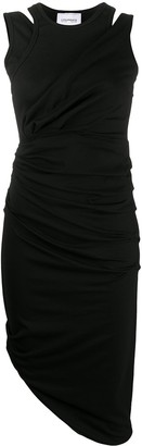 Lourdes Ruched Fitted Dress
