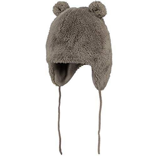 Barts Baby Boys' Noa Bear Gloves, (Misty Brown 0009)