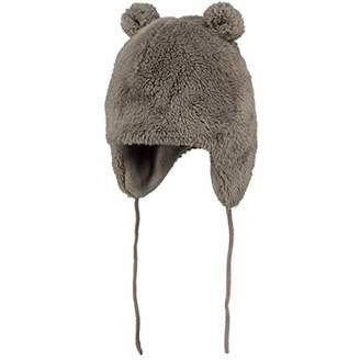 Barts Baby Boys' Noa Bear Gloves, (Misty Brown 0009)