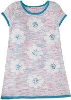 Design History Daisy Sweater Dress (Toddler/Kid) - Sky Blue-4T