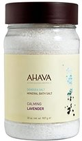 Ahava Deadsea Salt Mineral Bath Salt, Calming Lavender, 32 oz.