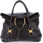 Dolce & Gabbana Pebbled Leather Tote