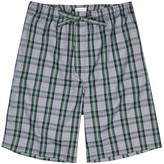 Derek Rose Barker Checked Cotton Shorts