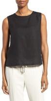 Eileen Fisher Women's Linen Shell