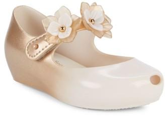 Toddler Mini Melissa Little Girls Black Ballet Flats