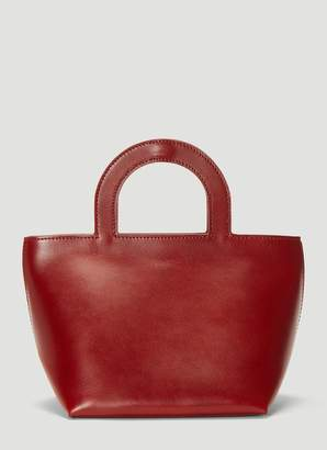 Building Block Tiny Stencil Duffel Bag in Red