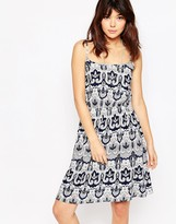 Brave Soul Paisley Print Sun Dress