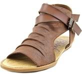Blowfish Balla Women Open Toe Synthetic Brown Gladiator Sandal.