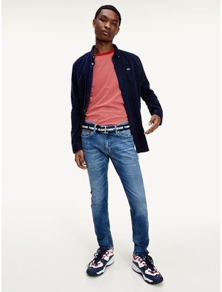 Tommy Hilfiger Slim Fit Washed and Worn Jean