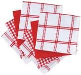 T-Fal 8 Piece Flat Waffle Kitchen Dishcloth Set
