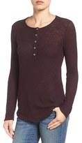 Gibson Long Sleeve Henley Top