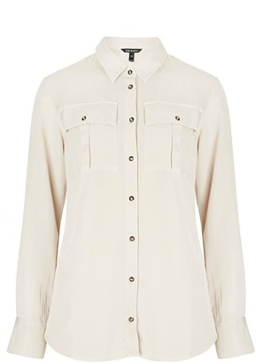 Baukjen Ellen Safari Shirt - Cream