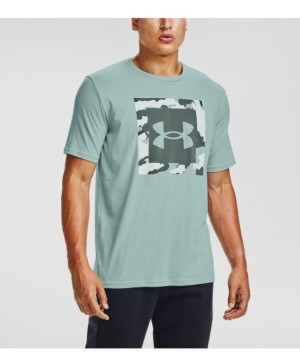 Under Armour Men's Camo Box Logo T-Shirt